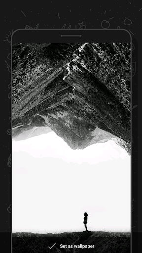 Darkor - Super Amoled, Dark, HD/4K Wallpapers App per Android screenshot