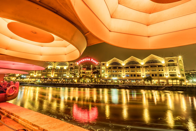 シンガポール クラーク・キー 夜景5