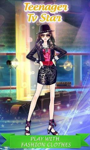 android Teenager Tv Star: DressUp Game Screenshot 0