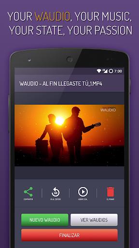 Foto do Waudio Music - Sua música nas redes sociais
