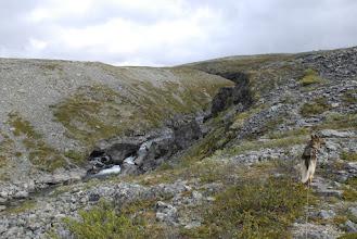 Kuva: Pitsusjokilaaksoa, nousu kohti Pitsusköngästä