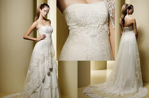 Beautiful Wedding Bridal Gown Design