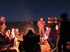 Around the campfire Friday night