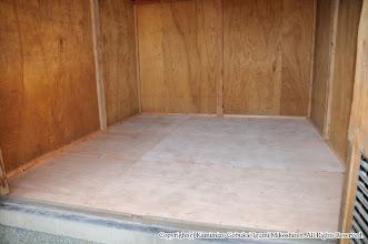 Photo: 【平成20年(2008) 宵々宮】  主の居ぬ間にすっかりと綺麗になった神輿奉安殿の床。