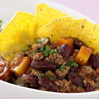 Chili Con Carne with Vegetable Rice.