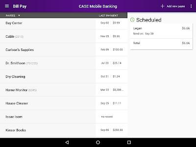 CASE Credit Union Mobile screenshot 12