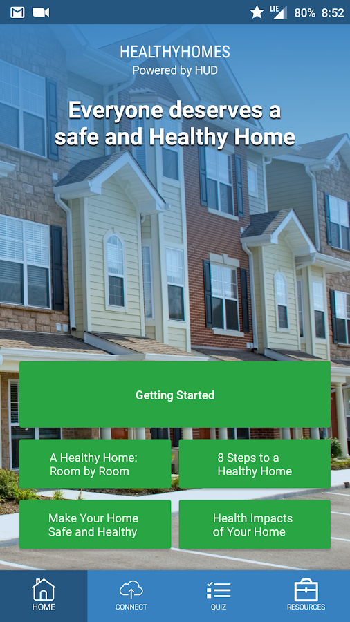 Healthy Homes Basics- screenshot