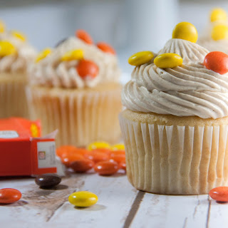 Reese's Pieces Cupcakes.