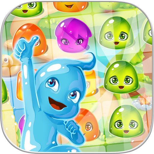 Jelly Jam Splash: Match 3 解謎 LOGO-玩APPs