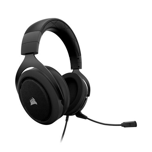 Tai nghe Corsair HS50 Stereo Carbon-2