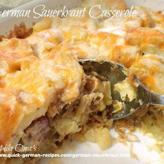 German Casserole Recipes.
