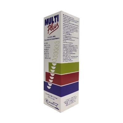 solución limpiadora para lentes multiplus x360ml multiplus