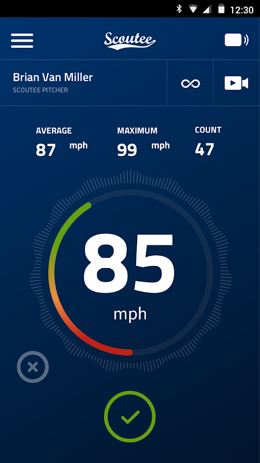 SCOUTEE Radar Gun- screenshot