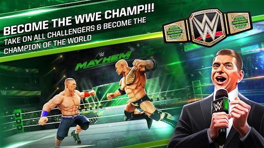 WWE Mayhem App Latest Version Download For Android and iPhone 7
