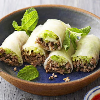 Turkey and Lemongrass Spring Rolls