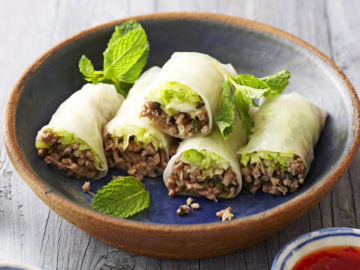 Turkey and Lemongrass Spring Rolls Recipe