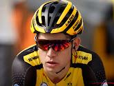 Wout van Aert donne de ses nouvelles après sa chute au Tour de France