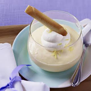 Lemon Cream Desserts.