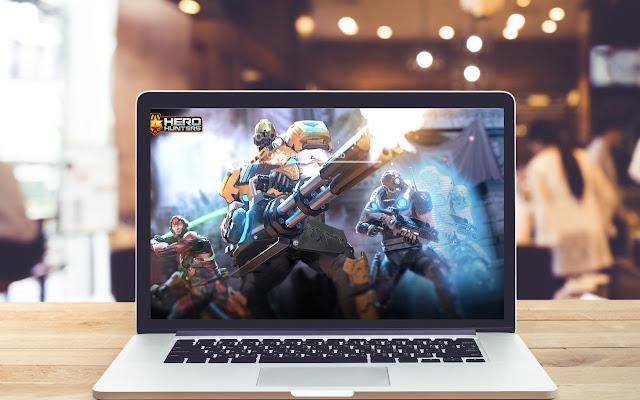 Hero Hunters HD Wallpapers Game Theme