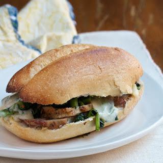 Philadelphia-Style Roast Pork & Rabe Sandwich