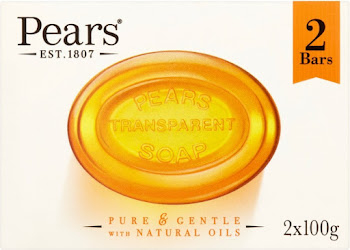 Pears Transparent Soap - 100g, x2
