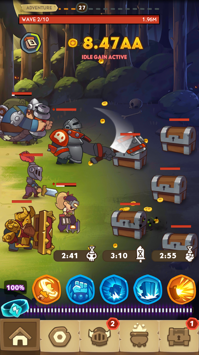 Almost a Hero - RPG Clicker Game with Upgrades Screenshot 6