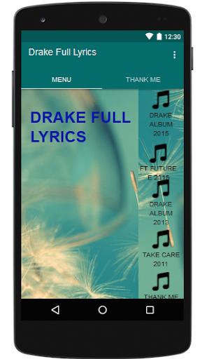 Drake Full Lyrics