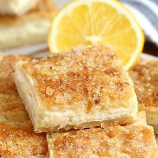 Easy Lemon Cream Cheese Bars