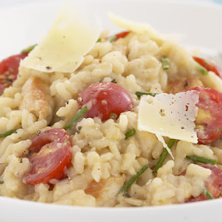Chicken, Lemon and Tomato Risotto