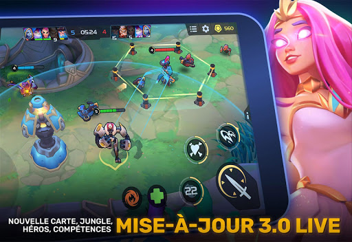 Planet of Heroes - MOBA 5v5  captures d'écran 1