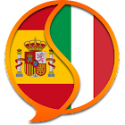 Diccionario Italiano Español F icon