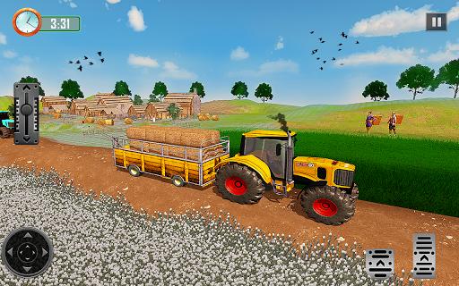 Farming Tractor Driver Simulator : Tractor Games  screenshots 8