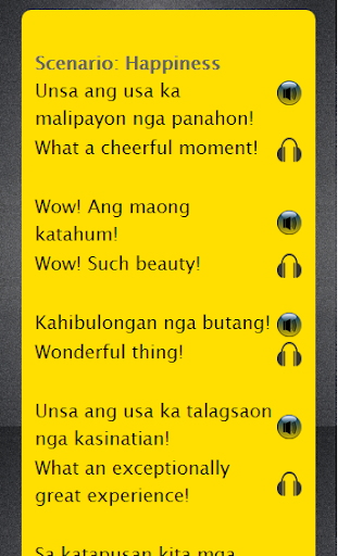 Cebuano to English Speaking