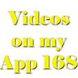 Video on my app 168