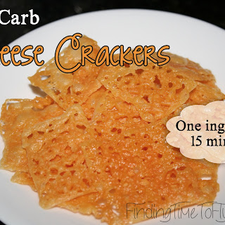 No Carb Cheese Crackers.