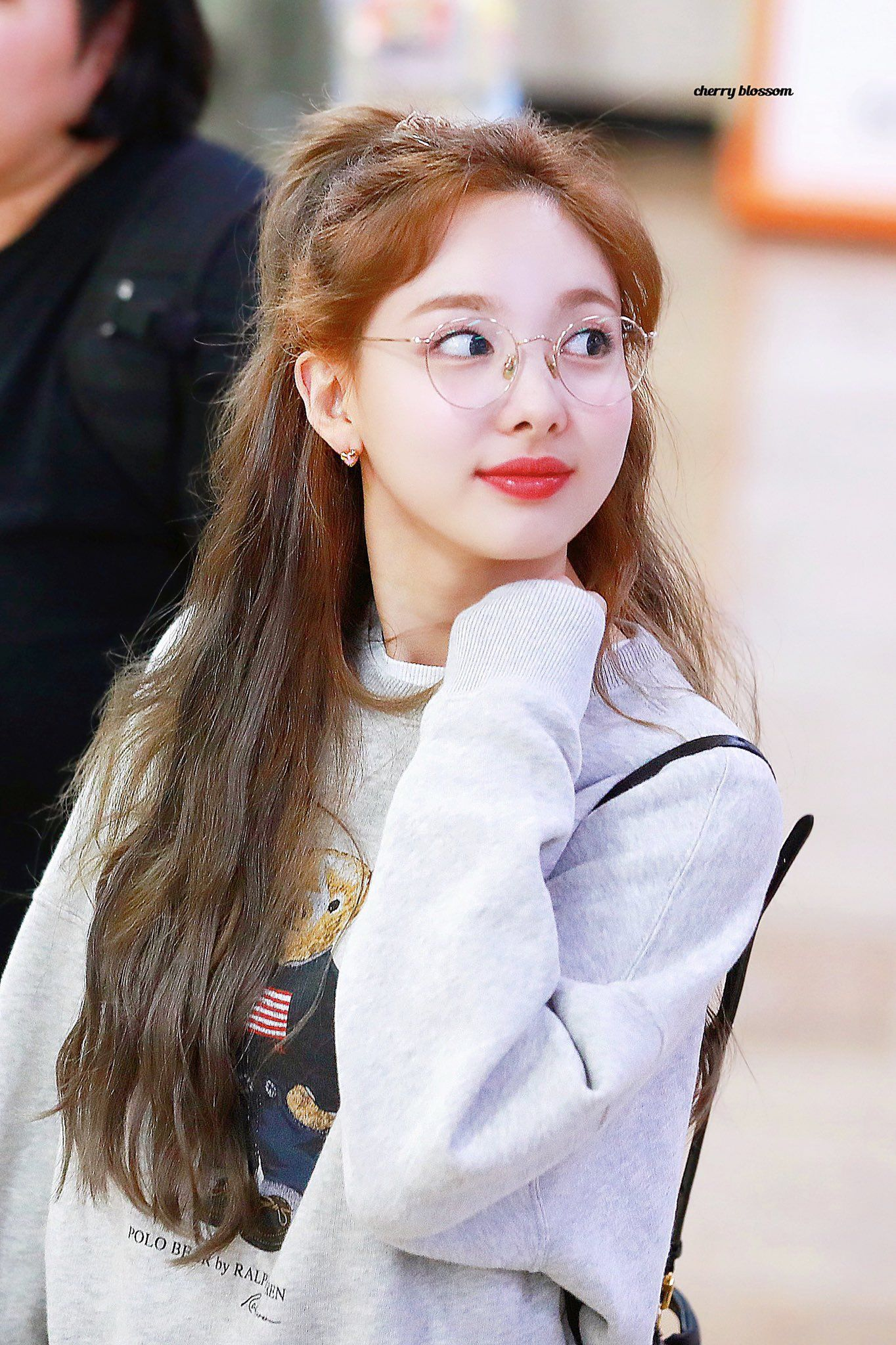190908 - Nayeon with glasses