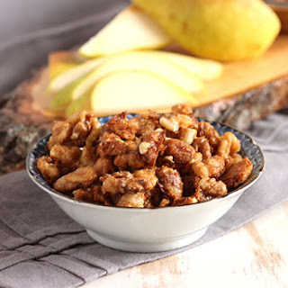 Easy Candied Walnuts.