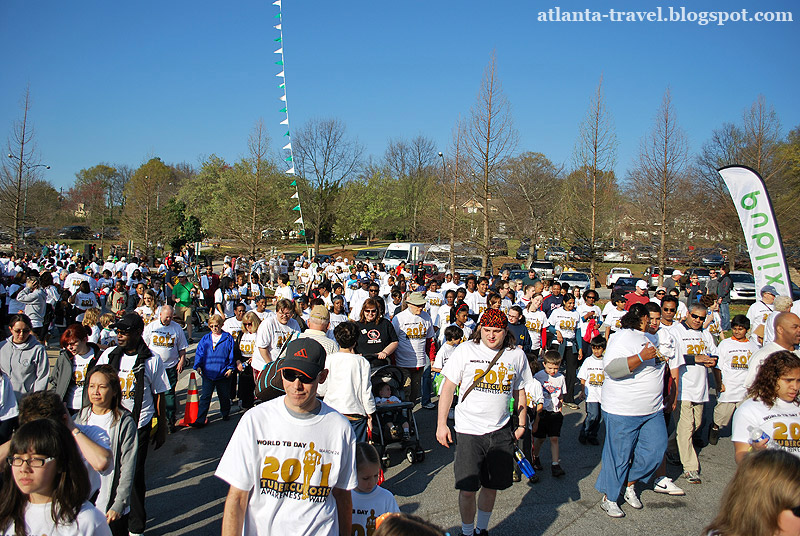 Марш во Всемирный день борьбы с туберкулезом  World Tuberculosis Day TB Walk