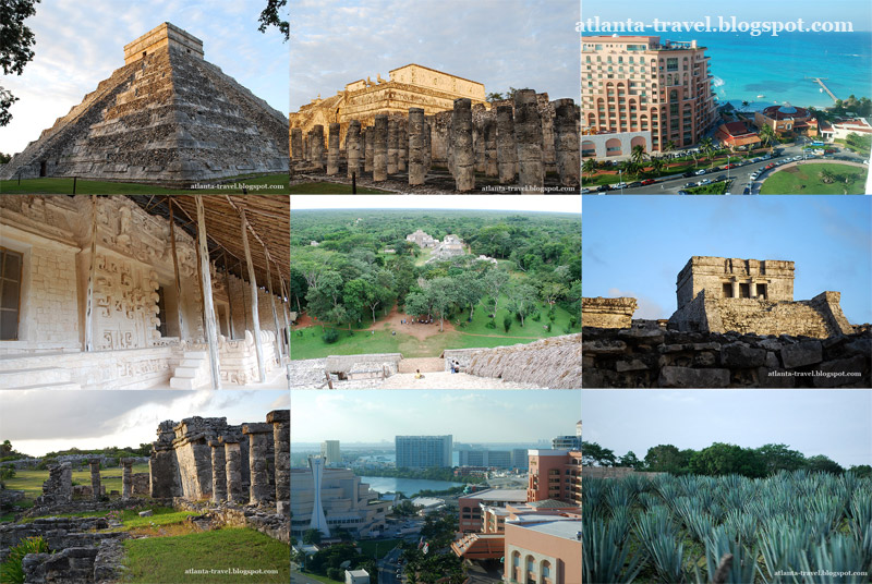 Что посмотреть в городе Канкун, Мексика What to see in Cancun