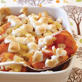 Sweet Potato and Pineapple Casserole.