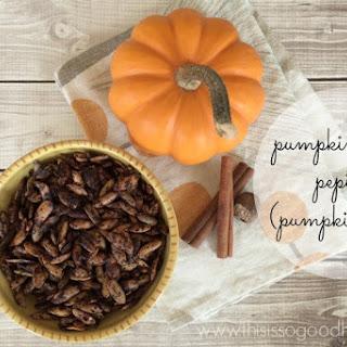 Pumpkin Spiced Pepitas (Pumpkin Seeds)
