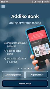 Addiko Mobile Srbija - náhled