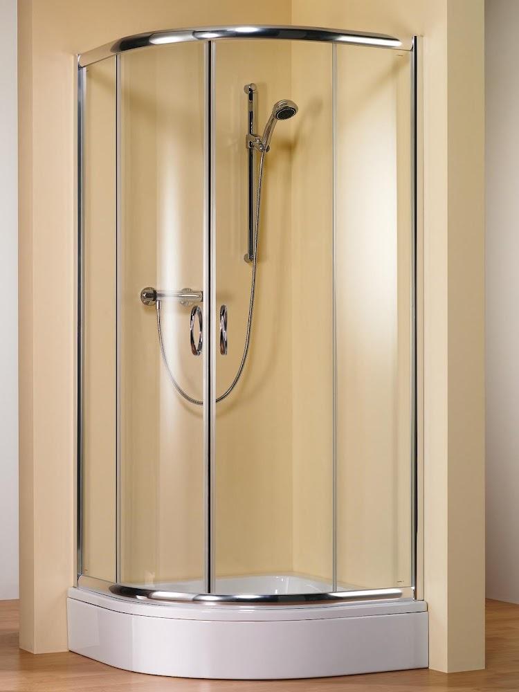 Paroi de douche arrondie schulte Porte de douche coulissante arrondie