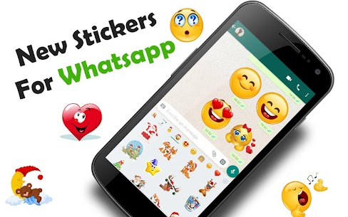 😊WAStickerApps emojis stickers for whatsapp Download For Android 1