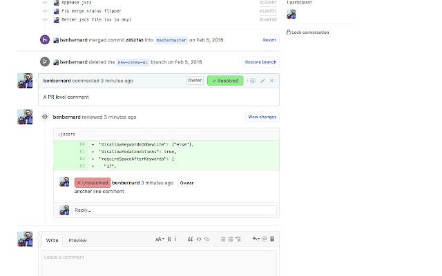 Github Comment Tracker
