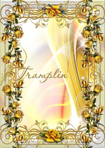 Рамка для фото  - Золото розы