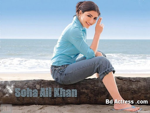 Bollywood Actress Soha Ali Khan Photo-02
