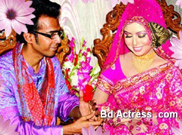 Bangladeshi Model Chadni and Bappa marriage