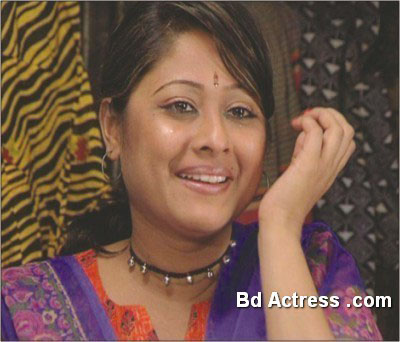 Bangladeshi Model Sumaya Shimu smile