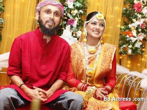 Bangladeshi Model Tisha and her husband